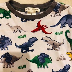 Pottery Barn Kids Pajamas - Pottery Barn Kids Dinosaur PJs